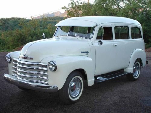 1951 Chevrolet Suburban. So Fresh, So Clean.
