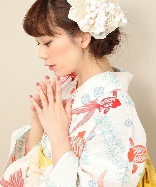 kawaii kimono: yukata: kingyo