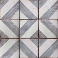 David Hicks-ish Pattern Moroccan Tile