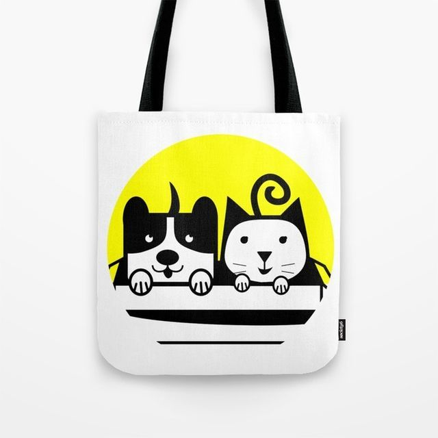 My Pets 02 in TOTE BAG