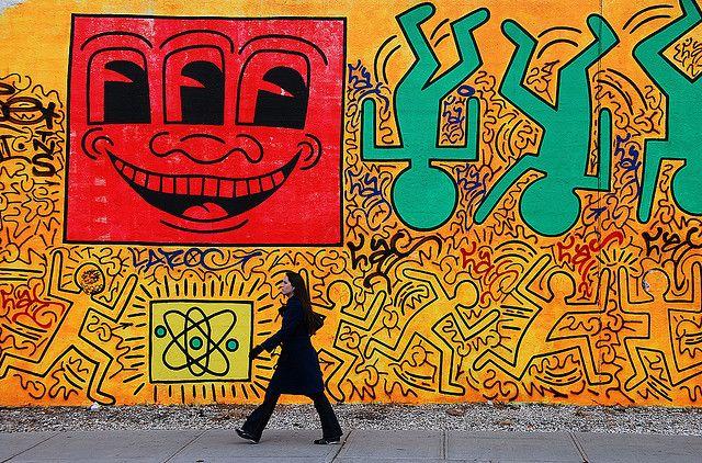 Jovivebo :: Keith Haring, NYC, 2008