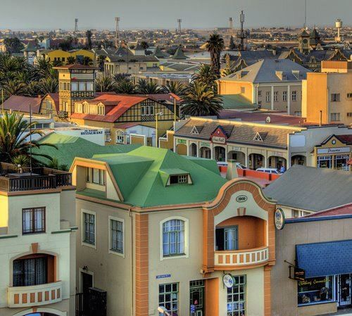 Shot of #Colorful #Swakopmund, #Namibia.  | Discover more: stories.namibiatourism.com.na |