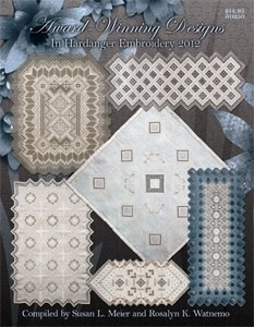 Award Winning Designs in Hardanger Embroidery 2012 - New book with Hardanger designs.  I love it!