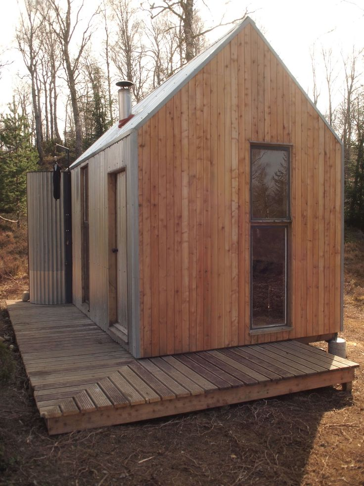 The Bothy Project | A studio cabin, small-scale art residency spaces