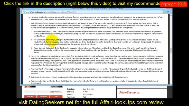 Watch This Affairhookups. com Review My recommended site:  http://j.mp/1loVE4F This is a review of Affairhooku… | Pinteres…
