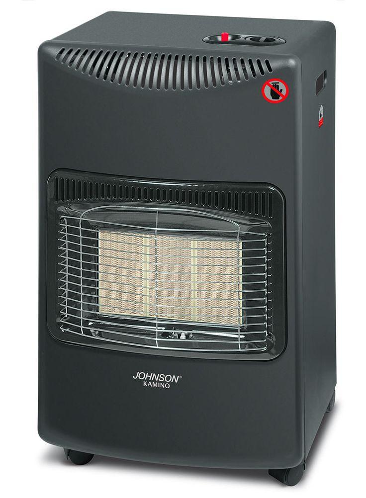 Johnson presenta kamino , stufa a gas a infrarossi con un' ottima capacita' di riscaldamento.