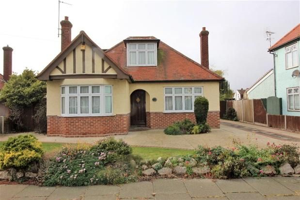 Detached bungalow for sale in Queensway, Holland On Sea, Clacton On Sea CO15 -                  £350,000
