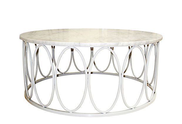 Ovales Cocktail Table, White on OneKingsLane.comCocktails Tables, Onekingslane Designisneverdon, Race Marbles, Tables Onekingslane, Stela Collection, Hone White, Oval Cocktails, Kids Destroyer, 2499 Oval