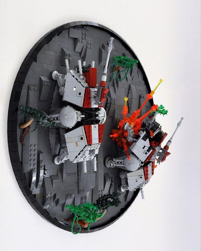 Star Wars Ring Worlds The Clone Wars L Lego Clones Lego Lego