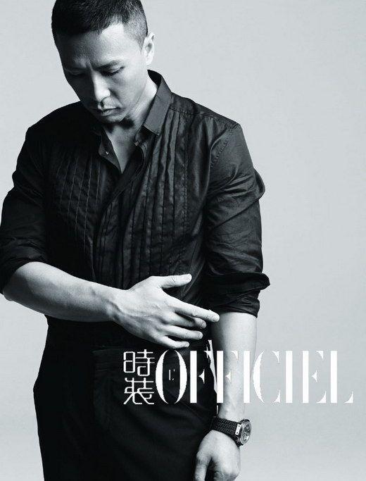 Donnie Yen - L'OFFICIEL Mag. '09