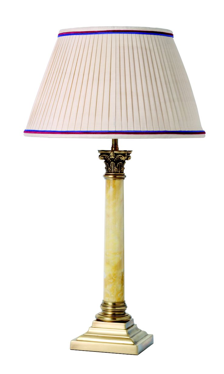 31 best column lamps images on pinterest columns table lamp and t4 004 corinthian column with marble centre geotapseo Choice Image