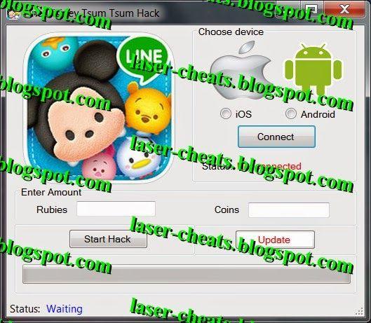 Laser Cheats: Line Disney Tsum Tsum Hack Tool and Cheats [FREE D...