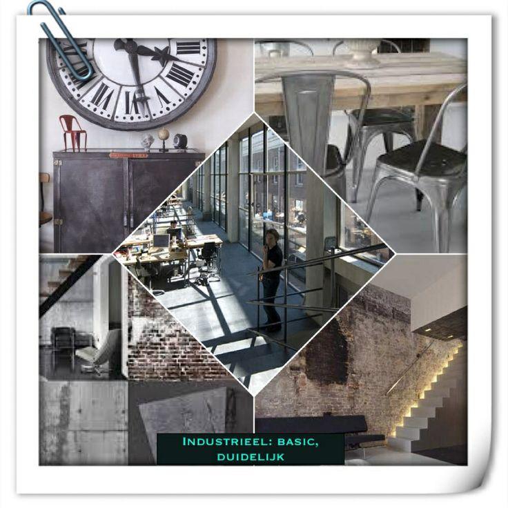 Industriële interieurstijl