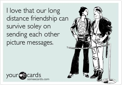 A Love/Hate Relationship With Long-Distance Friendships