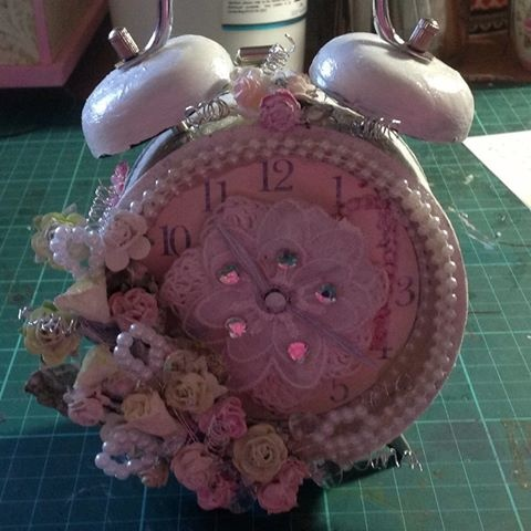 Jeanelle Downey, Vintage Clock.