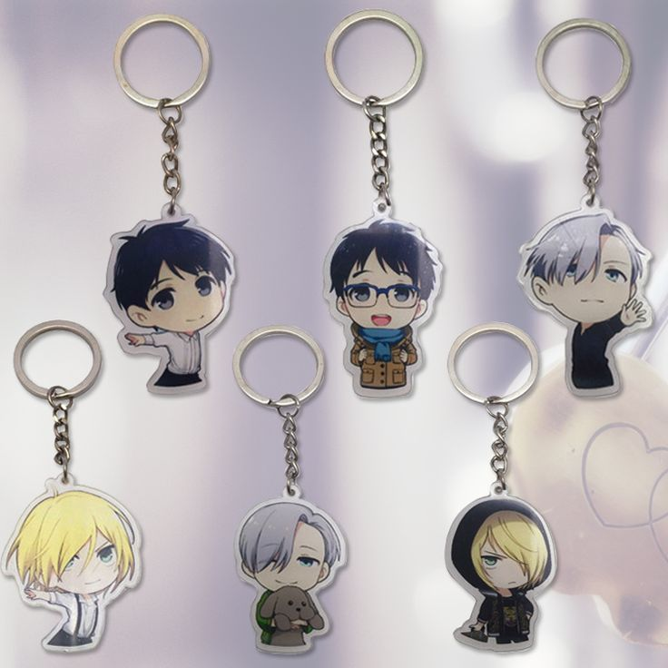 Japanese Anime YURI!!! on ICE Keychain Victor Nikiforov Yuri Katsuki Pendant Keyrings New 1pcs  Key chain Holder for Cars Bags  ** This is an AliExpress Affiliate Pin. Ver el elemento en detalles haciendo clic en la imagen