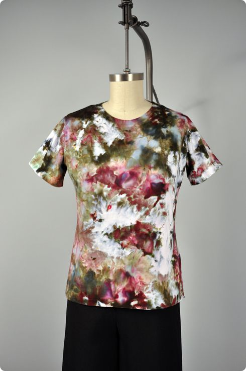 Learn how to Ice Dye fabric or clothes with Darma Dye.
