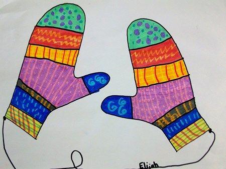 arts plastiques primaire hiver 1