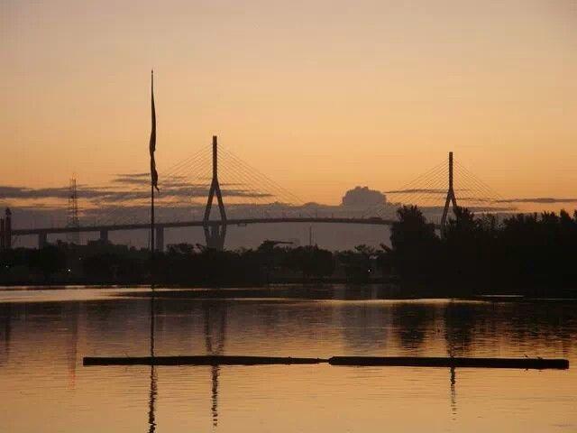 Atardecer en el Puente Tampico