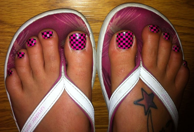 Coll JamBerry toes