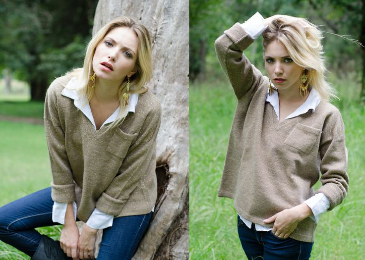 Sweater Almendro natural