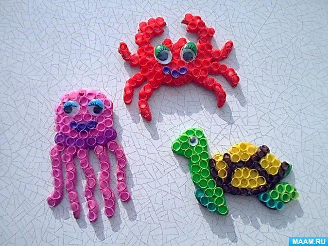 Организованная образовательная деятельность в средней группе «Загадочный подводный мир» по познавательному направлению - Для воспитателей детских садов - Маам.ру