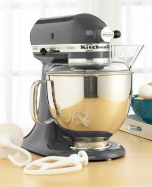 KitchenAid KSM150PS Artisan 5 Qt. Stand Mixer - Gray