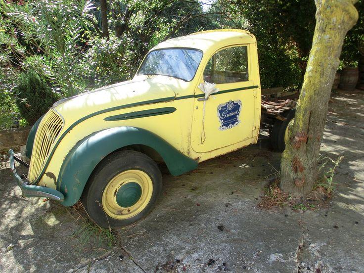 Oude Franse auto