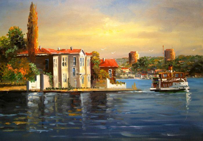 İstanbul Tabloları İST 015