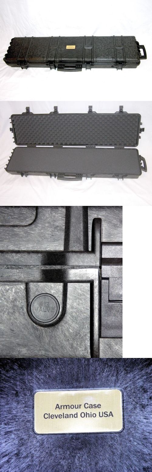 Cases 73938: Armourcase Includes Cubed Pluck Foam +Nameplate Equiv. Pelican ™ 1750 Rifle Case -> BUY IT NOW ONLY: $199.88 on eBay!