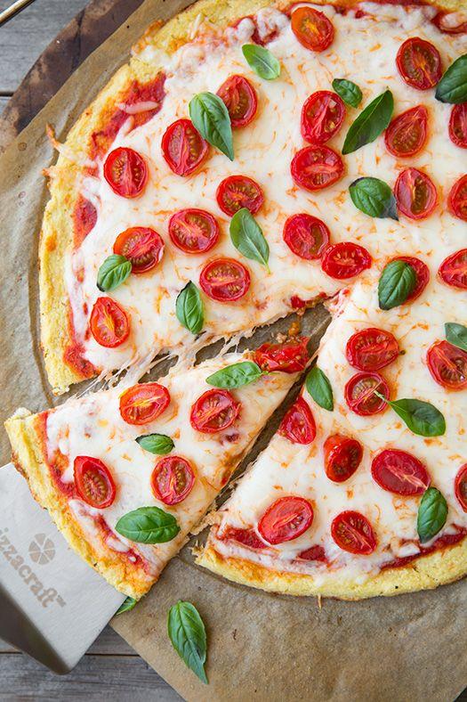 Gluten Free Cauliflower Pizza Crust