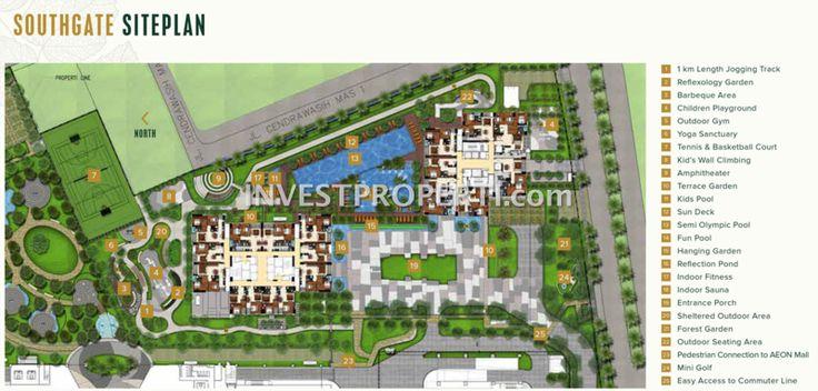 Southgate Jakarta Siteplan