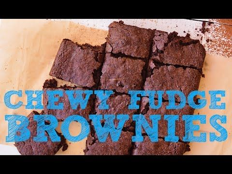 Chewy Fudge Brownies from the vegan cookbook Aquafaba by Zsu Dever