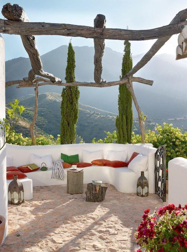 inspiración terrazas con faroles árabes
