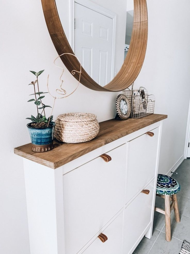 Easy Shoe Cabinet Ikea Hack For A Narrow Entryway Lavender Julep Homeinspo Homeinspoboho Homeinspominimali Ikea Shoe Cabinet Ikea Shoe Ikea Shoe Rack