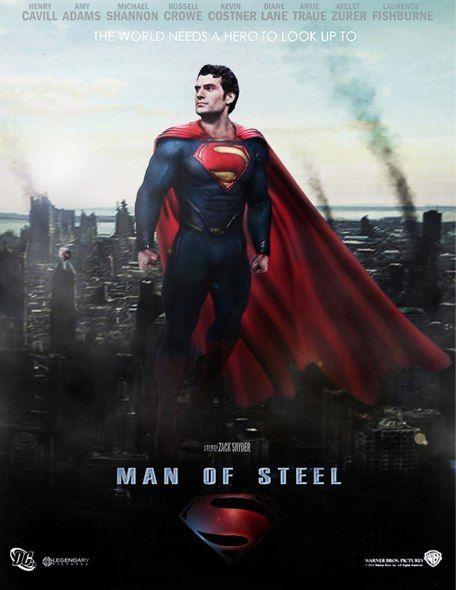 Nuovo Trailer ufficiale in italiano per il prossimo film di Superman, 'L'uomo d'acciaio'