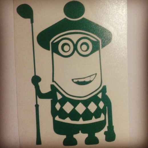 #minions                                               Golfería Minion