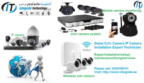 We install and maintain CCTV, Networking, IP PBX system, Sound System, Access Control in Dubai and we provide All Types of CCTV Camera Installation Repair Fixing Maintenance, service in Duba...