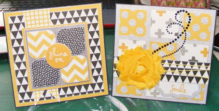 Cards - Kaisercraft Shine Bright collection ~Karyn Watton
