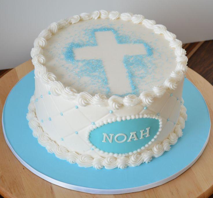 Boy Baptism Cakes on Pinterest   Christening Cake Boy, Baptism Cakes …