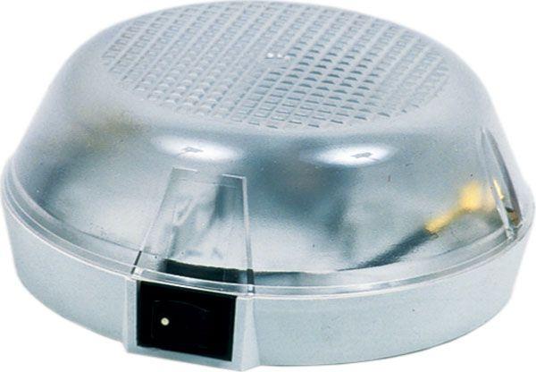 Plafonnier avec interrupteur sur socle et un porte-lampe #eclairage