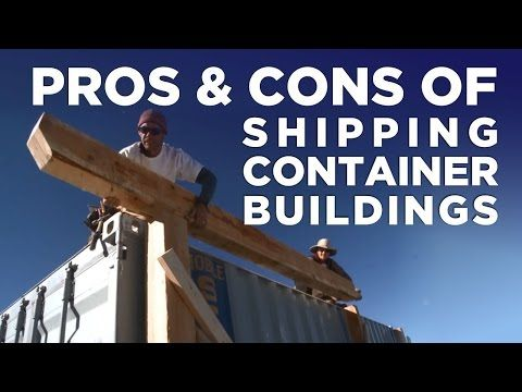 Cool Shipping Container Homes, Awesome Homes made from Shipping Containers - YouTube