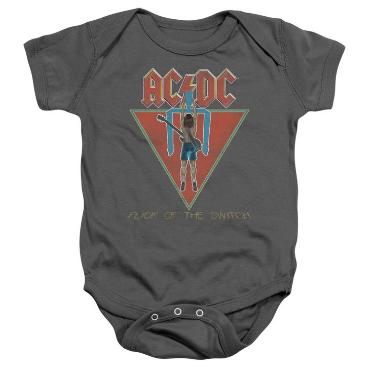 ACDC Flick Of The Switch Onesie