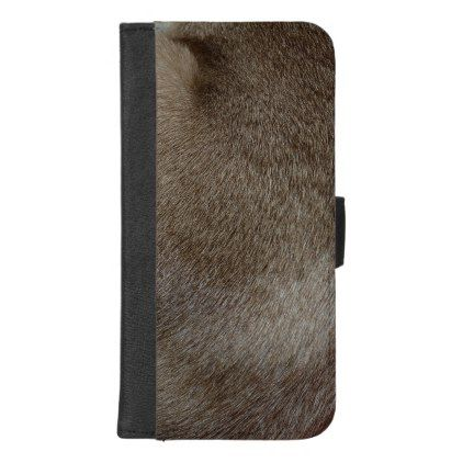 The look of Luxurious Seal Point Siamese Cat Fur iPhone 8/7 Plus Wallet Case - luxury gifts unique special diy cyo