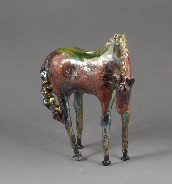 Raku Horse.. These are awesome but expensive... :(