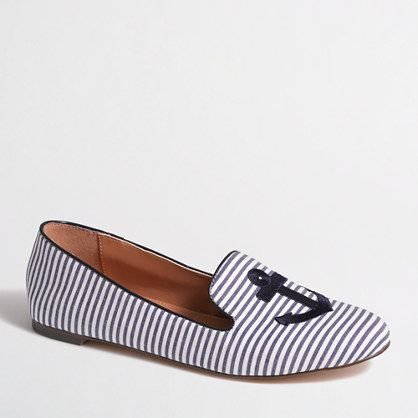 J.Crew Factory - Factory addie loafers in anchor HALF PRICE MEMORIAL DAY ONLY!!! from 108 to 54