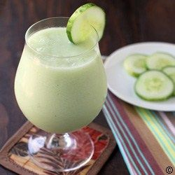 Cucumber-Honeydew-Melon-Smoothie #best recipe to try