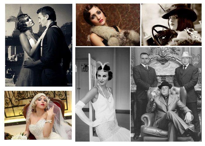 Примеры свадебных нарядов новобрачных для кино-свадьбы