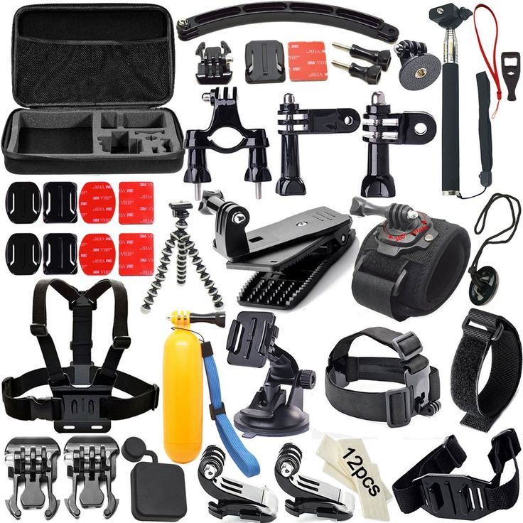 3.Top 10 Best Accessories Kits for Camera and GoPro Reviews in 2016