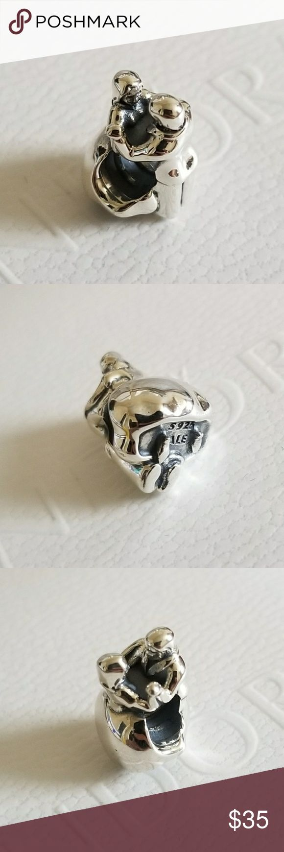 Pandora First Dance Couple Wedding Charm **Retired  100% authentic Pandora (or money back) Brand new in package Properly stamped Pandora stores offer lifetime free cleaning  No box included  Fast shipping Pandora Jewelry Bracelets